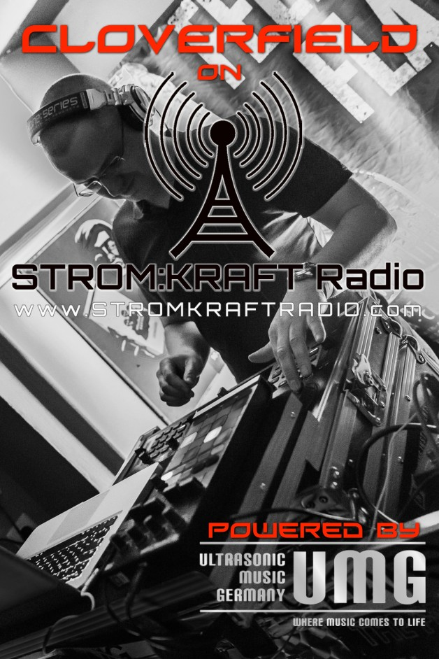 Monday 17th Jun. 7.00pm – STROM:KRAFT pres TOM CLOVERFIELD – exclusive Radio Show