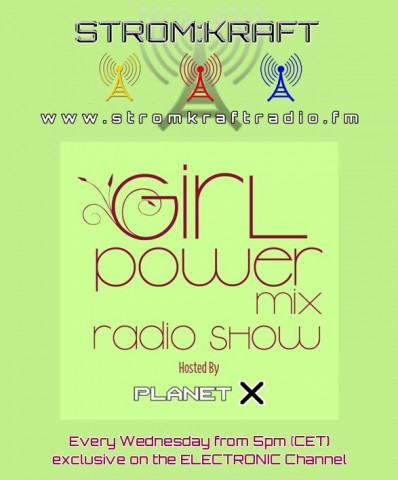 Wednesday 19th Jun. 5.00pm – PlanetX pres GIRL POWER MIX exclusive Radio Show