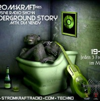 Friday monthly 07.00pm – STROM:KRAFT pres Dia Vendy Underground Story – exclusive Radio Show – TECHNO CHANNEL