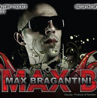 Tuesday monthly 10.00pm – STROM:KRAFT presents Max Bragantini (Italy) exclusive Radio Show – TECHNO CHANNEL