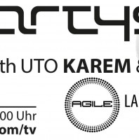 Sunday 8th Jun. 8.00pm (CET) – PARTYSAN – DeepDive eizh UTO KAREM & HOLLEN (AGILE – Label Showcase) – VIDEO LIVE STREAM