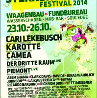 23.-26. Oktober – 4 Tage  STERNBRÜCKENFESTIVAL by www.ILOVEHEARTBEATS.de, Hamburg mit CARI LEKEBUSCH, KAROTTE, CAMEA, DER DRITTE RAUM live, PIEMONT live u.v.m.