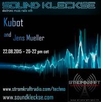 Saturday August 22th 08.00pm CET – SOUNDKLECKSE RADIO by Jens Mueller