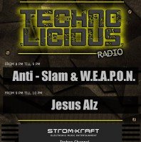 Friday July 31th 08.00pm CET – TECHNOLICIOUS Radio by Monotoon Recordings