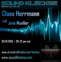 Saturday October 3th 08.00pm CET – SOUNDKLECKSE RADIO by Jens Mueller