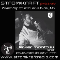 Monday October 5th 09.00pm CET – STROMKRAFT EXCLUSIVE MIX – Javier Montoliu ( ARG)