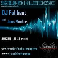 Saturday November 21th 08.00pm CET – SOUNDKLECKSE RADIO by Jens Mueller