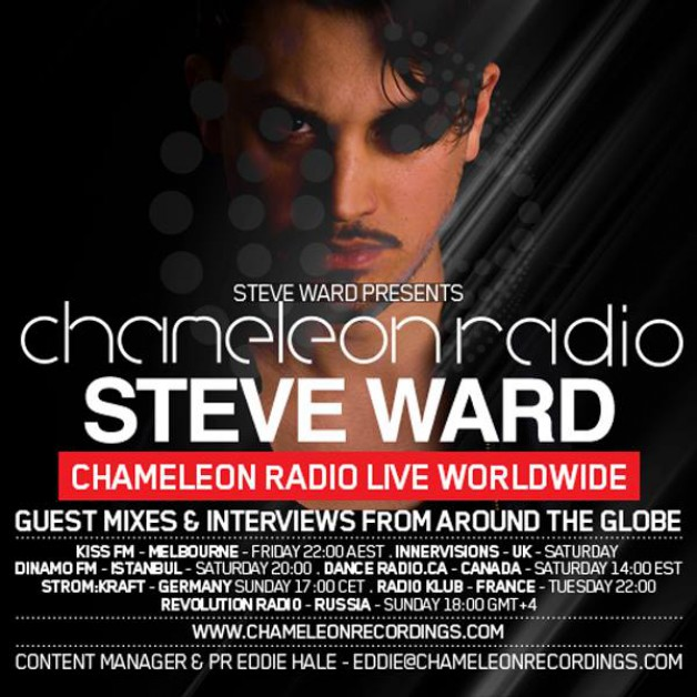 Sunday April 24th 05.00pm CET – Chameleon Radio Show by Steve Ward