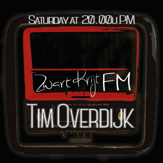Saturday August 20th 08.00pm CET – ZWARTKRIJT FM