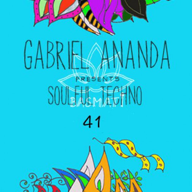 Sunday April 17th 08.00pm CET – Soulful Techno Radio #41 by Gabriel Ananda