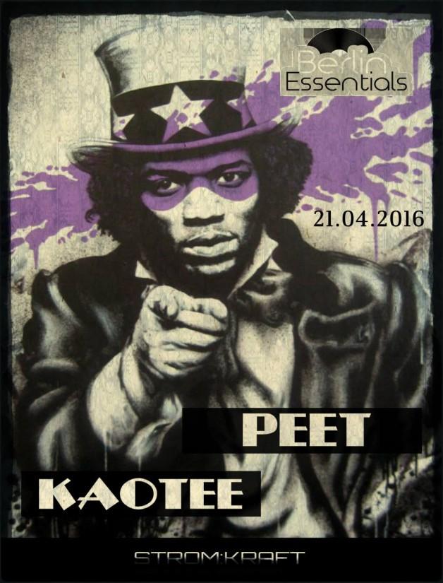 Thursday April 21th 08.00pm CET- Berlin Essentials Radio by Michael Otten ( Stencil Rec.)