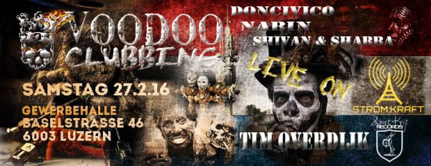 Saturday February 27th 10.00pm CET – Voodoo Industries (live from Gewerbehalle CH)