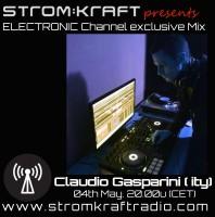 Wednesday May 4th 08.00pm CET – Strom:kraft Radio Exclusive Mix by Claudio Gasparini