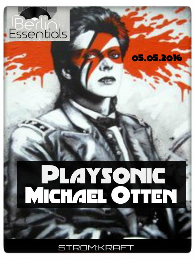 Thursday May 5th 08.00pm CET- Berlin Essentials Radio by Michael Otten ( Stencil Rec.)