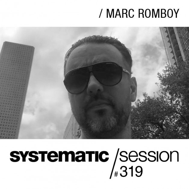 Tuesday May 11th 09.00pm CET- Systematic Sessions by Marc Romboy