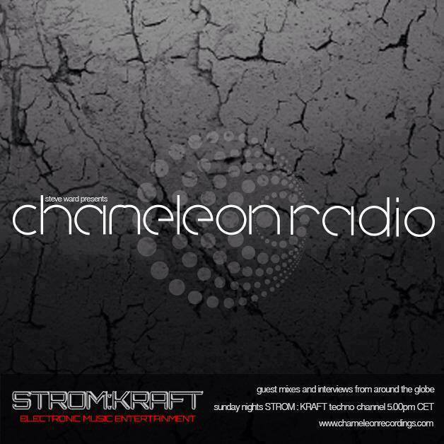Sunday May 22th 05.00pm CET – Chameleon Radio Show by Steve Ward