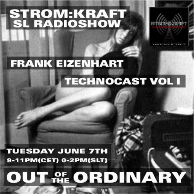 Tuesday June 7th 9.00pm CET [0.00pm SLT] – Second Life's OUT OF THE ORDINARY RADIO #01 – Frank Eizenhart ( USA)