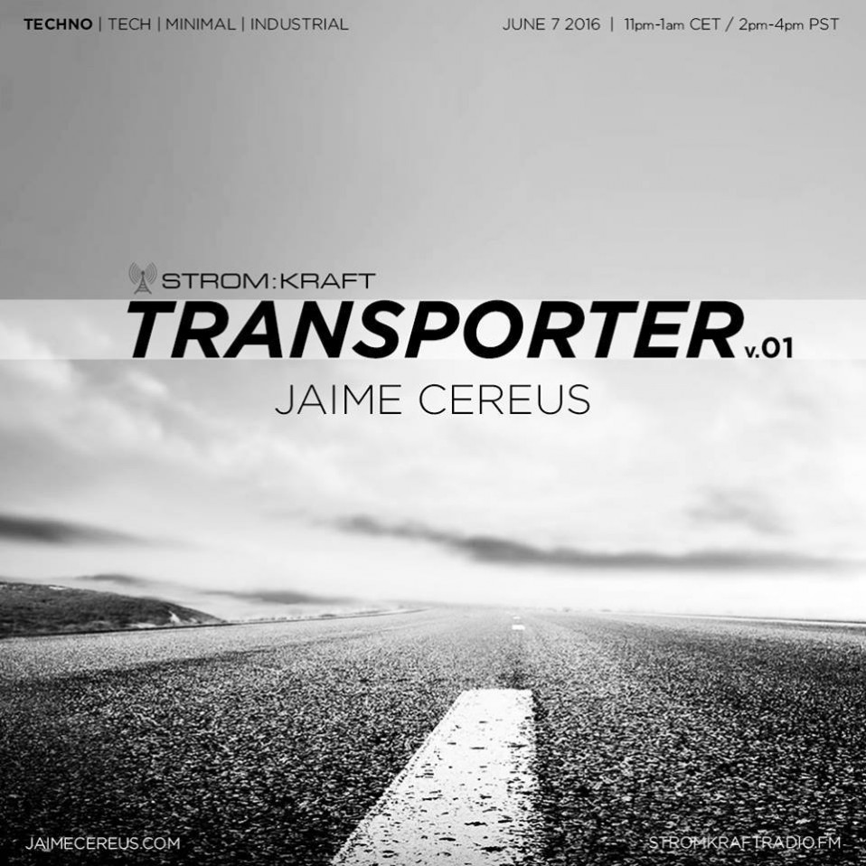 Tuesday June 7th 11.00pm CET [2.00pm SLT] – Second Life's TRANSPORTER RADIO #01 – Jaime Cereus (USA)