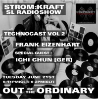 Tuesday June 21th 9.00pm CET [0.00pm SLT] – Second Life's OUT OF THE ORDINARY RADIO #02 – Frank Eizenhart ( USA)