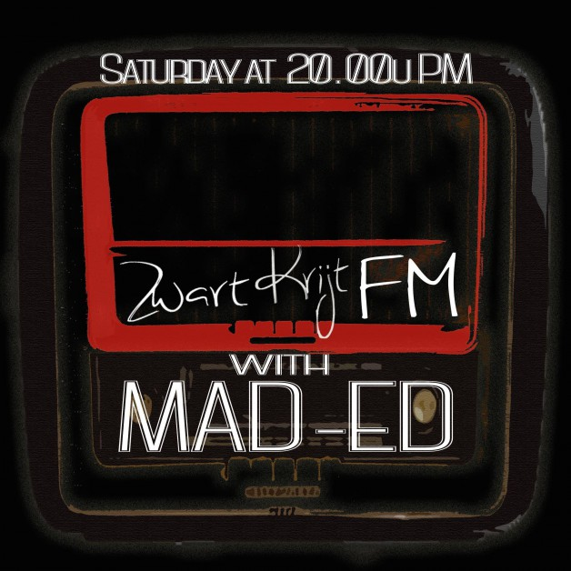 Saturday June 25th 08.00pm CET – ZWARTKRIJTFM