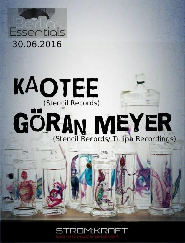 Thursday June 30th 08.00pm CET- Berlin Essentials Radio by Michael Otten ( Stencil Rec.)