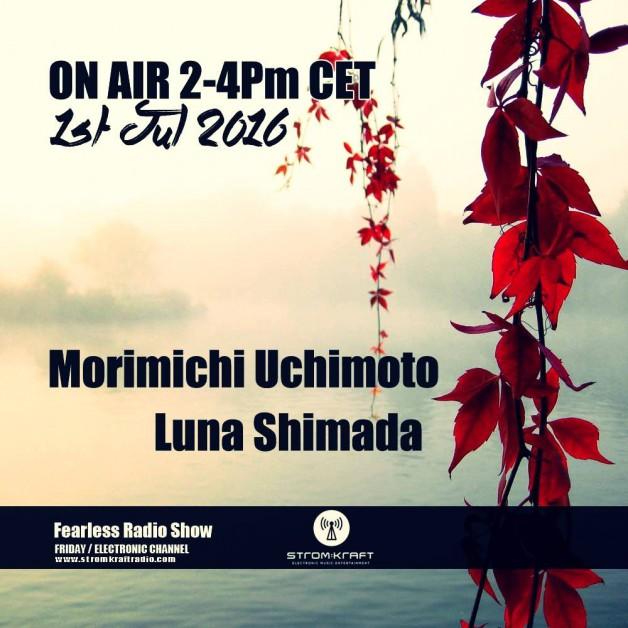 Friday July 1th 02.00pm CET – Fearless Radio #20 by Luna Shimada