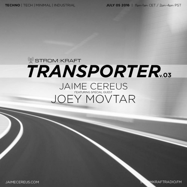 Tuesday July 5th 11.00pm CET [2.00pm SLT] – Second Life's TRANSPORTER RADIO #03 – Jaime Cereus (USA)