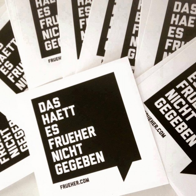 Tuesday July 12th 06.00pm CET – Das Haett Es Frueher Nicht Gegeben Podcast