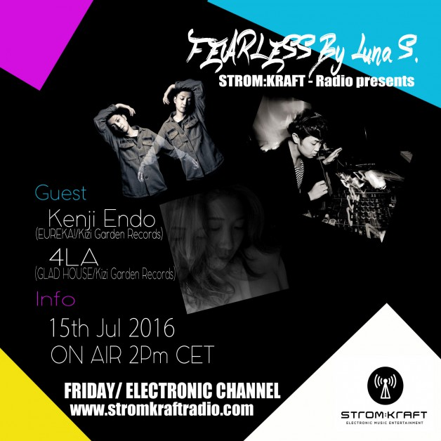 Friday July 15th 02.00pm CET – Fearless Radio #21 by Luna Shimada