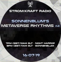 Tuesday July 19th 07.00pm CET [10.00am SLT] – Second Life's METAVERSE RHYTHMS RADIO #04 – Sandro Sonnenblum (GER)