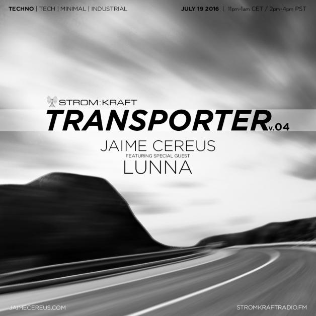 Tuesday July 19th 11.00pm CET [2.00pm SLT] – Second Life's TRANSPORTER RADIO #04 – Jaime Cereus (USA)