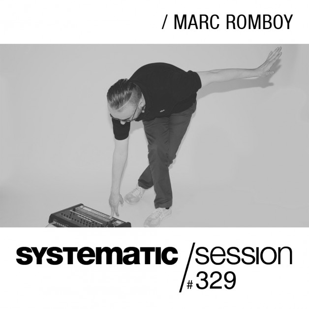 Tuesday July 19th 09.00pm CET- Systematic Sessions #329 by Marc Romboy