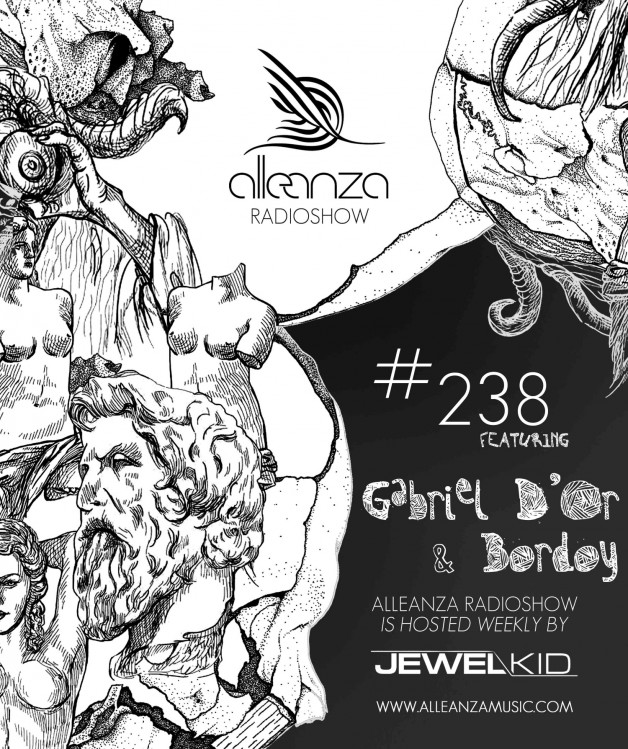 Tuesday August 2nd 07.00pm CET- ALLEANZA RADIO SHOW #238 by Jewel Kid