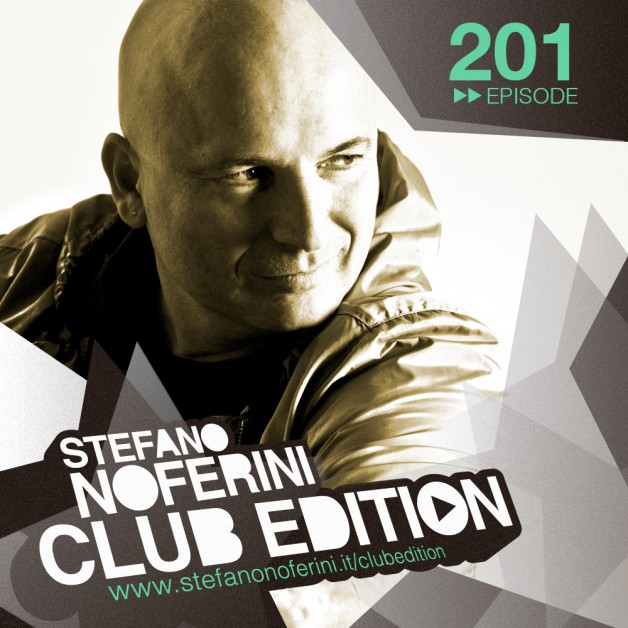 Tuesday August 2nd 08.00pm CET – Club Edition #201 by Stefano Noferini