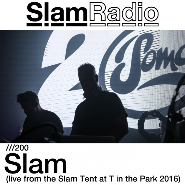Thursday August 4th 08.00pm CET – SLAM RADIO #200