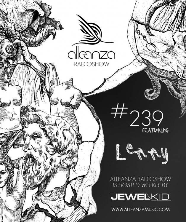 Tuesday August 9th 07.00pm CET- ALLEANZA RADIO SHOW #239 by Jewel Kid