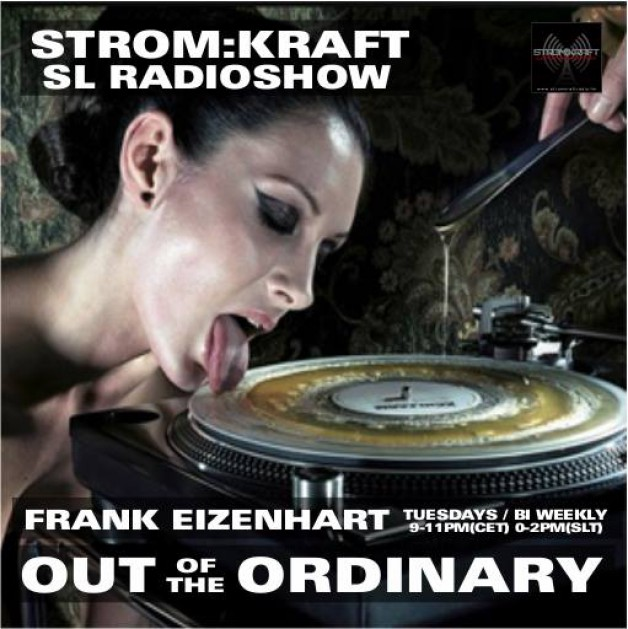 Tuesday August 16th 9.00pm CET [0.00pm SLT] – Second Life's OUT OF THE ORDINARY RADIO #06 – Frank Eizenhart (USA)
