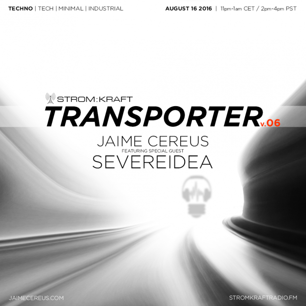 Tuesday August 16th 11.00pm CET [2.00pm SLT] – Second Life's TRANSPORTER RADIO #06 – Jaime Cereus (USA)