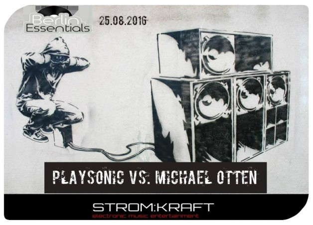 Thursday August 25th 08.00pm CET- Berlin Essentials Radio by Michael Otten ( Stencil Rec.)