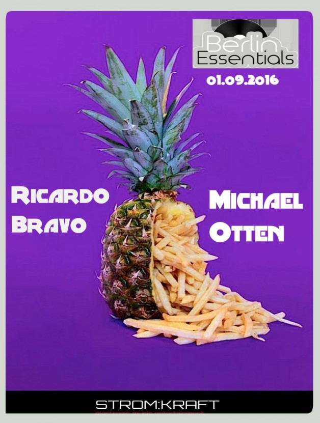 Thursday September 1th 08.00pm CET- Berlin Essentials Radio by Michael Otten ( Stencil Rec.)