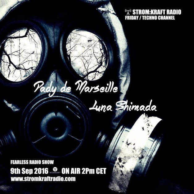 Friday September 9th 02.00pm CET – Fearless Radio #25 by Luna Shimada