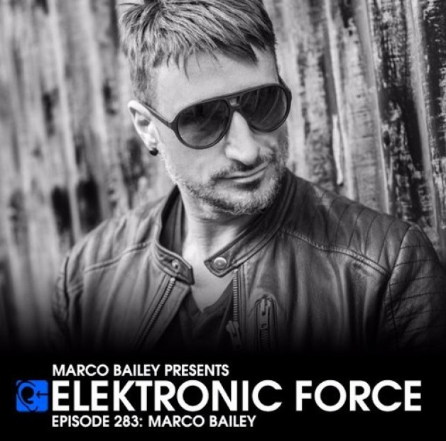 Friday September 9th 06.00pm CET – Elektronic Force   by Marco Bailey