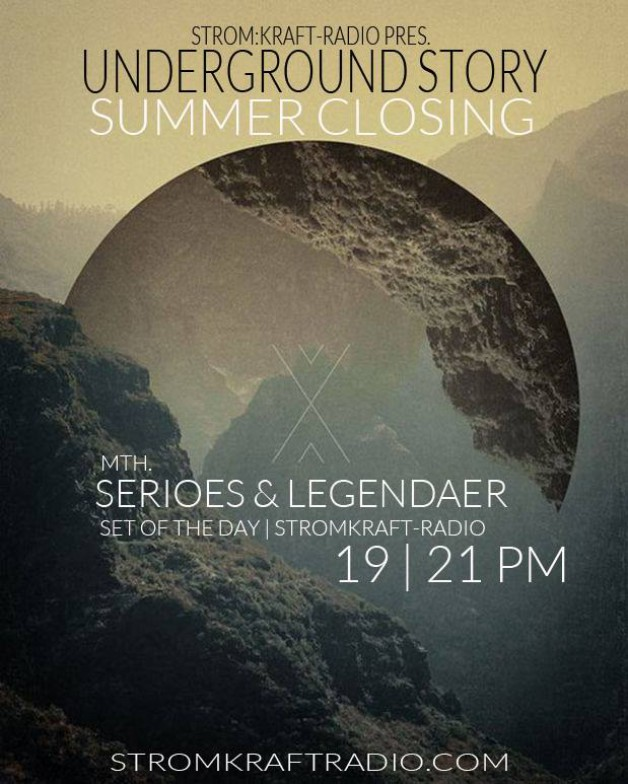 Friday September 9th 09.00pm CET – Underground Story by Serioes & Legendaer