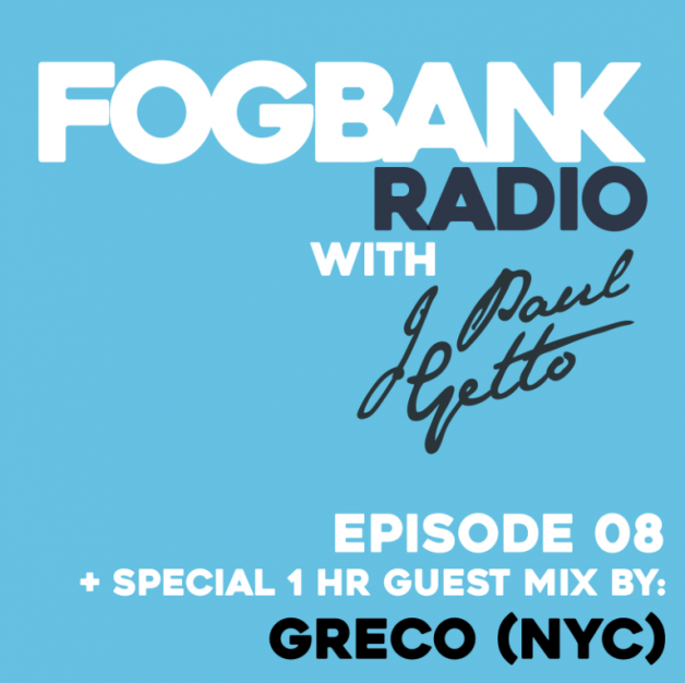 Saturday September 10th 08.30pm CET – Fogbank Radio #008 by J paul Getto