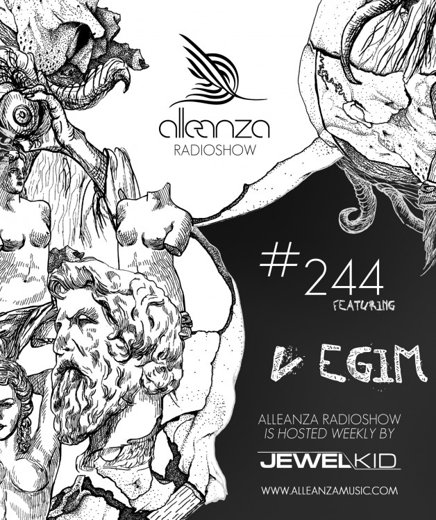 Tuesday September 13th 07.00pm CET- ALLEANZA RADIO SHOW #244 by Jewel Kid
