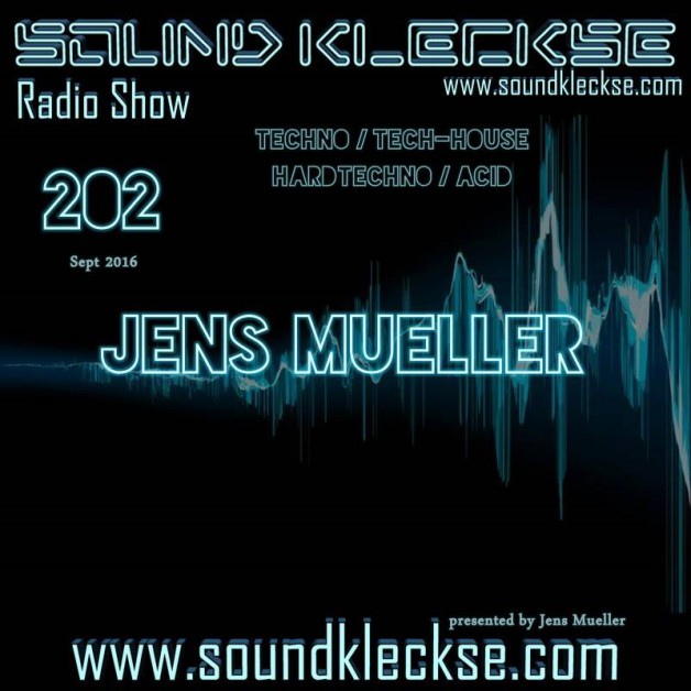 Saturday October 1th 6.00pm CET – Sound Kleckse radio #204  by Jens Mueller