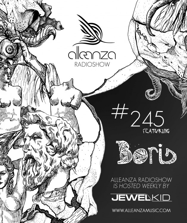 Tuesday September 20th 07.00pm CET- ALLEANZA RADIO SHOW #245 by Jewel Kid