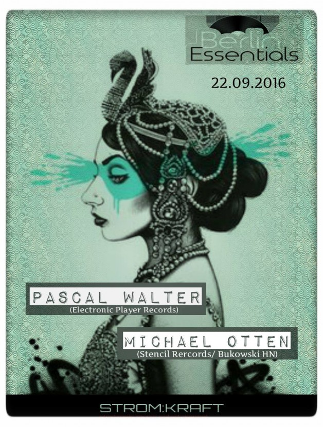 Thursday September 22th 08.00pm CET- Berlin Essentials Radio by Michael Otten ( Stencil Rec.)