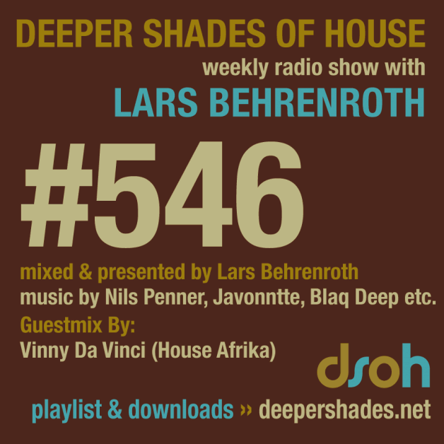 Sunday September 25th 04.00pm CET – Deeper Shades of House #546 by Lars Behrenroth