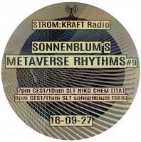 Tuesday September 27th 07.00pm CET [10.00am SLT] – Second Life's METAVERSE RHYTHMS RADIO #09 – Sandro Sonnenblum (GER)